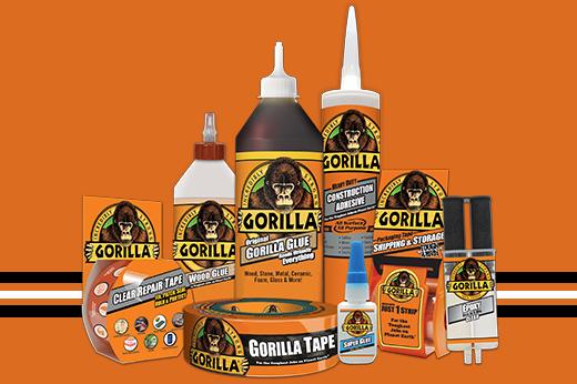 Gorilla Glue Projects