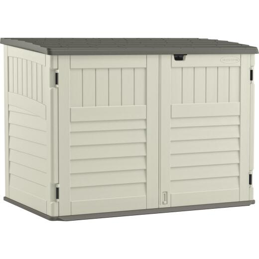 Suncast Stow-Away 70 Cu. Ft. Horizontal Storage Shed