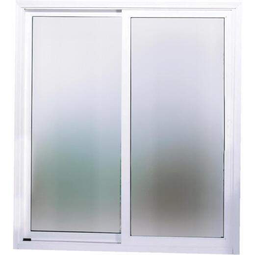 Interstate Model 4202 6/0-6/8 Reversible White Sliding Patio Door