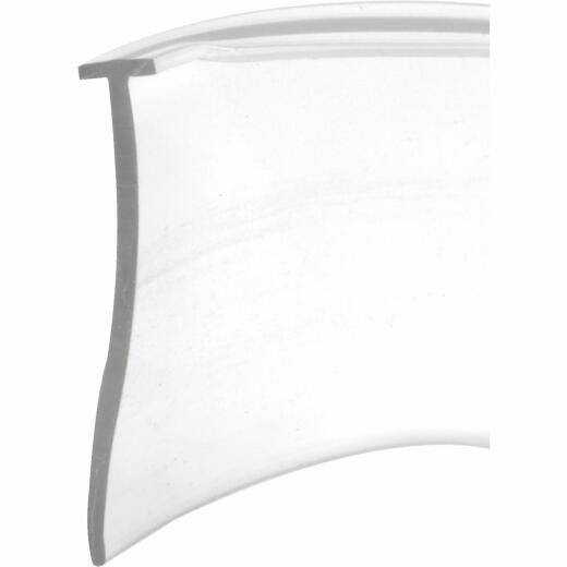 Prime-Line 1 In. x 36 In. Clear Tee-Shaped Shower Door Sweep