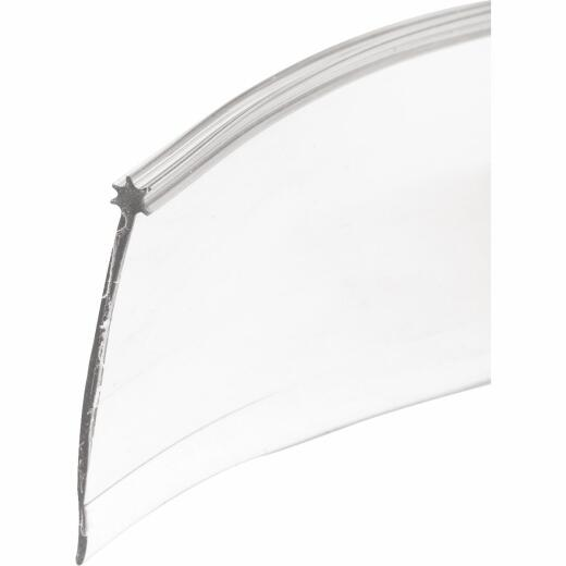 Prime-Line 1-5/16 In. x 36 In. Clear Star Insert Shower Door Bottom Sweep