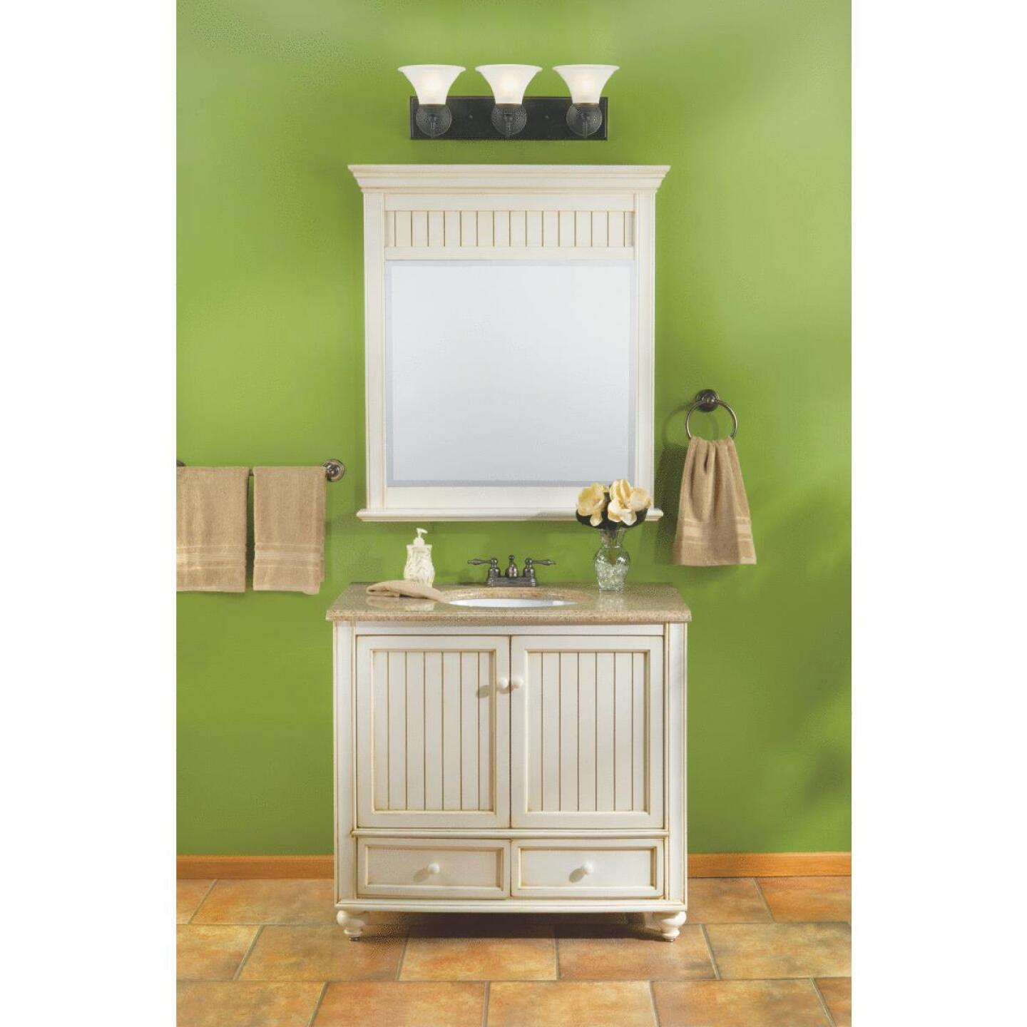 Sunny Wood Bristol Beach White 36 In. W x 34 In. H x 21 In. D Vanity Base, 2 Door/2 Drawer Image 8