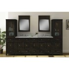 Sunny Wood Barton Hill Black Onyx 36 In. W x 38 In. H Vanity Mirror Image 2