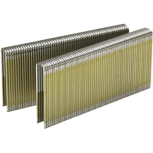 Senco AccuSet 18-Gauge Galvanized Medium Wire Finish Staple, 1/4 In. x 7/8 In. (5000 Ct.)