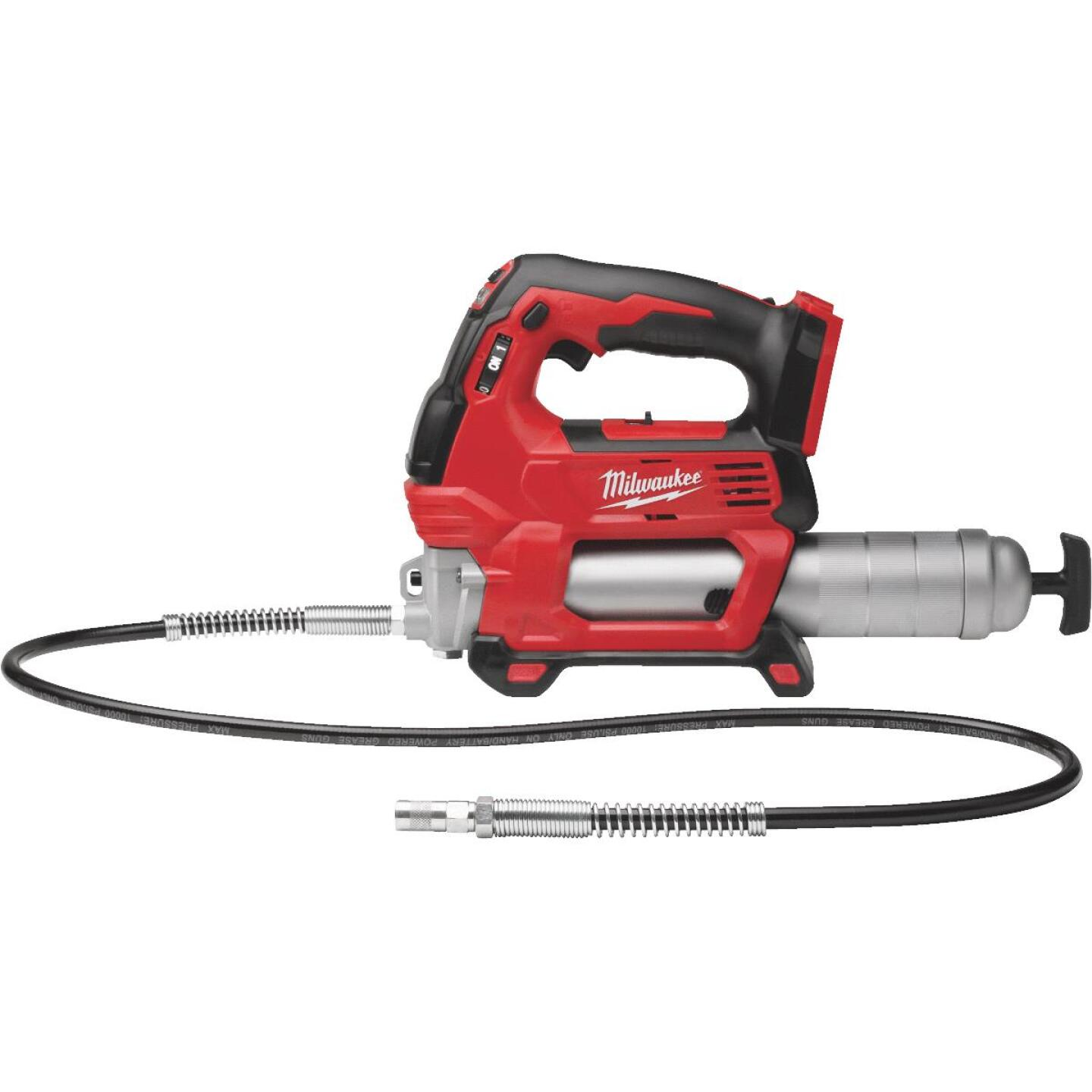 Milwaukee M18 18 Volt Lithium-Ion 2-Speed Cordless Grease Gun (Bare Tool) Image 1
