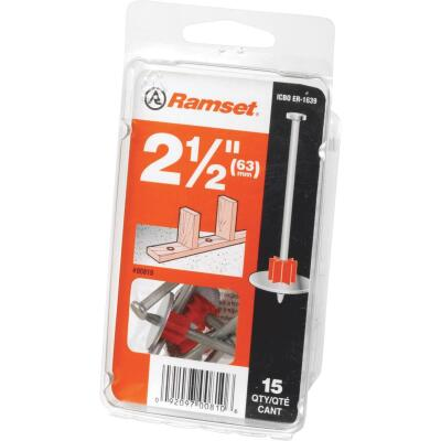 Ramset 1-1/2 In. Fastening Pin with Washer (15-Pack)