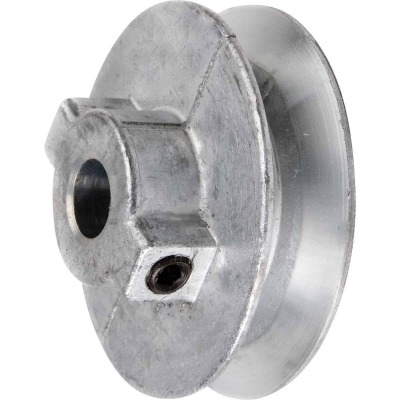 Chicago Die Casting 6 In. x 1/2 In. Single Groove Pulley