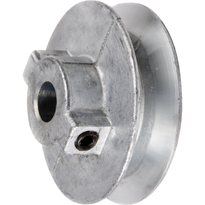 Chicago Die Casting 3 In. x 5/8 In. Single Groove Pulley