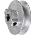 Chicago Die Casting 3-1/4 In. x 1/2 In. Single Groove Pulley Image 1