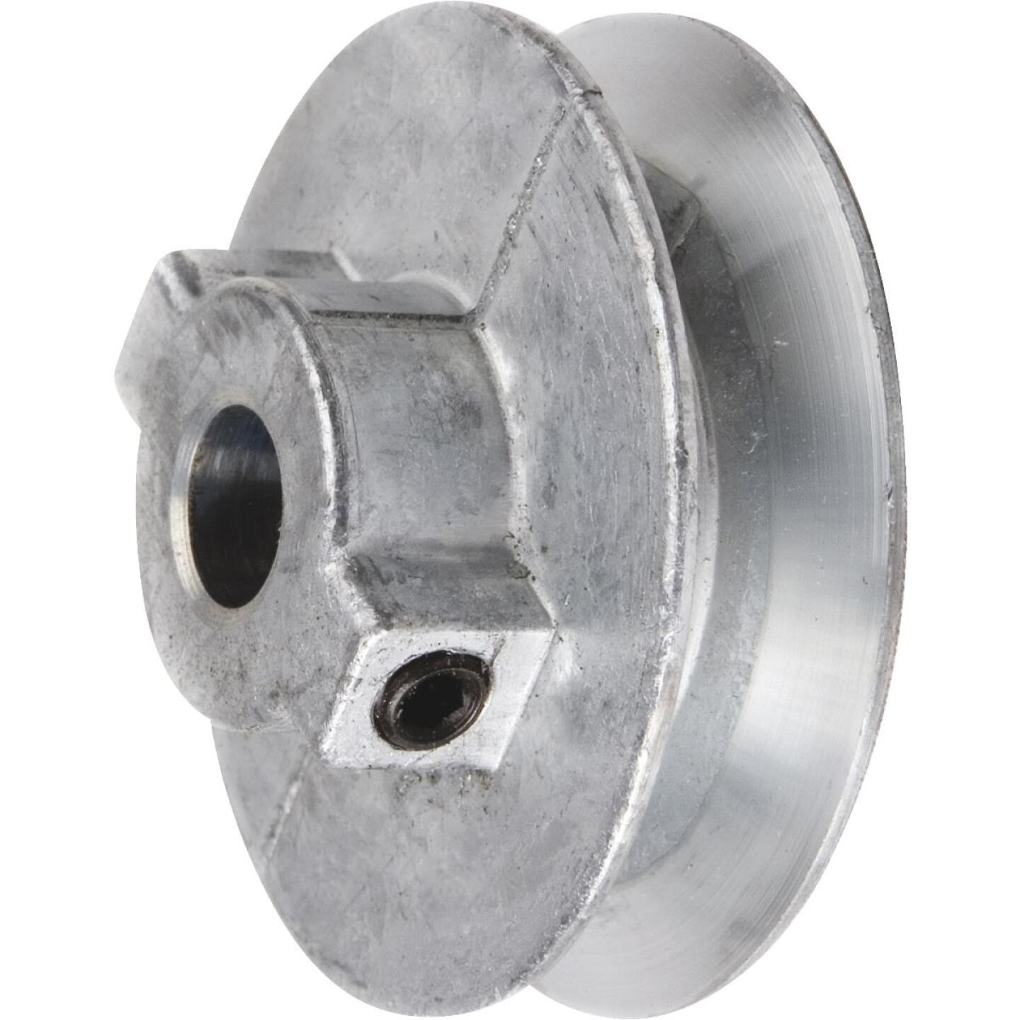 Chicago Die Casting 2 In. x 1/2 In. Single Groove Pulley Image 1