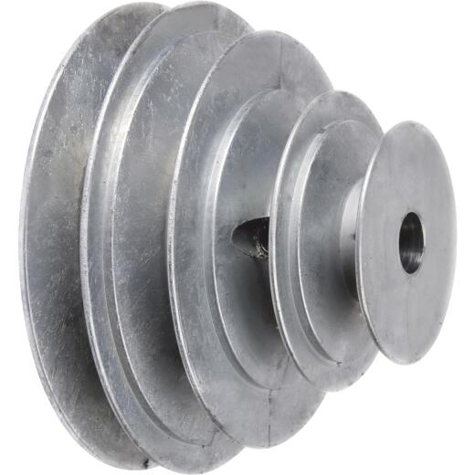 Chicago Die Casting  5/8 In. 4-Step Cone Pulley
