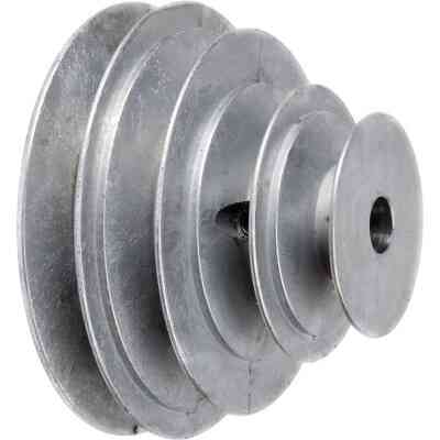 Chicago Die Casting 5/8 In. 3-Step Cone Pulley
