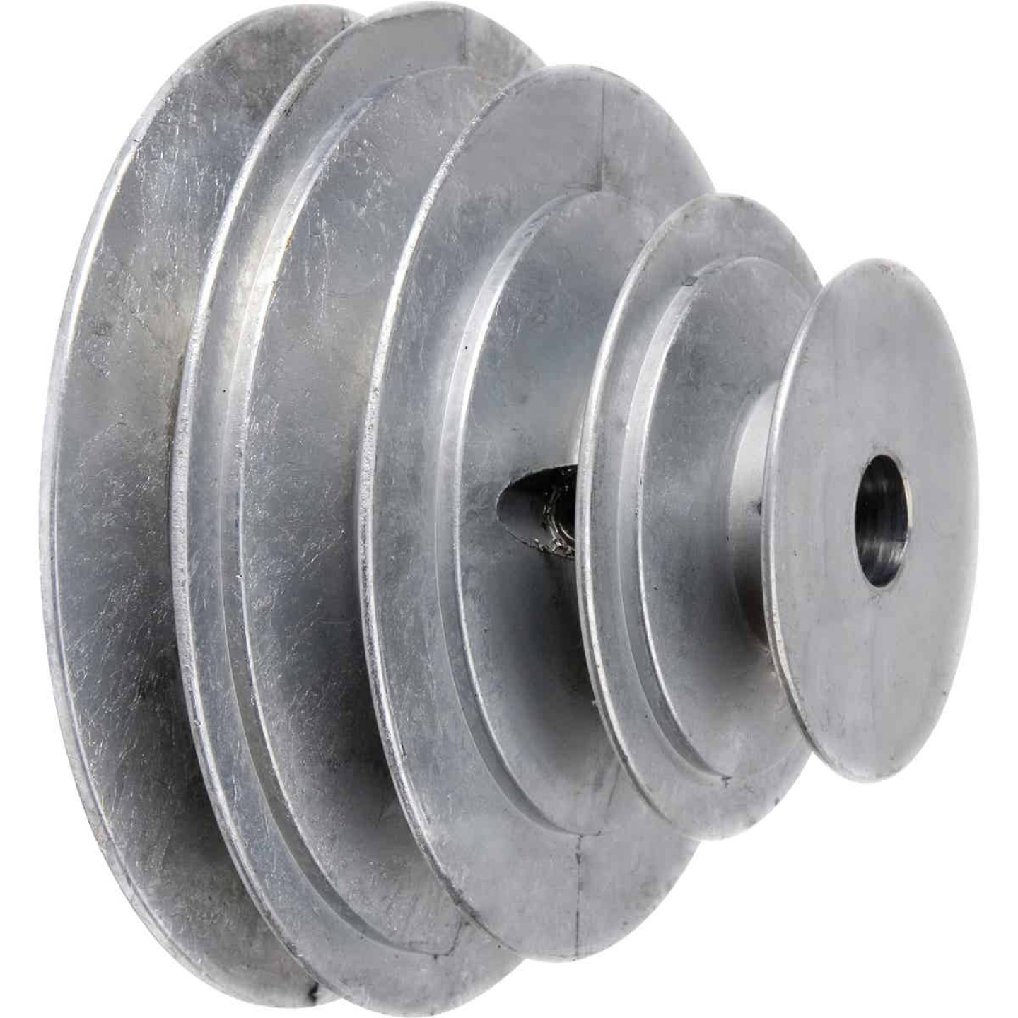 Chicago Die Casting 1/2 In. 4-Step Cone Pulley Image 1