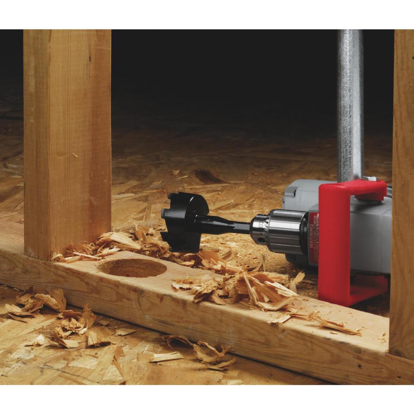 Milwaukee Hole Hawg 1/2 in. 7.5-Amp Keyed Electric Angle Drill Image 2