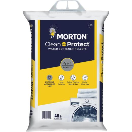 Morton 40 Lb. Water Softener Salt Pellets
