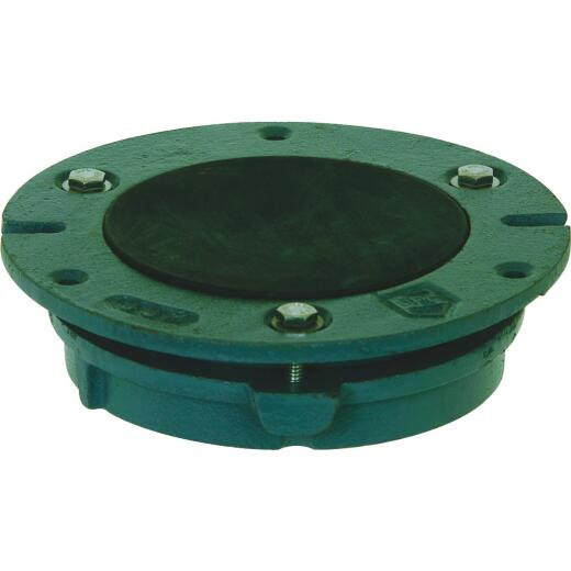 Sioux Chief 4 In. Green Cast-Iron Toilet Flange