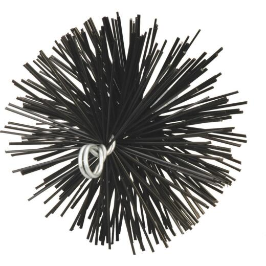 Meeco's Red Devil 8 In. Round Poly Chimney Brush