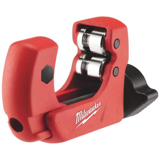 Milwaukee 1 in. Mini Tubing Cutter, 1/8 In. to 1-1/8 In. Pipe Capacity