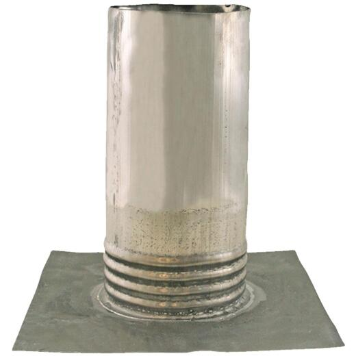 Jones Stephens 4 In. Lead Roof Pipe Flashing