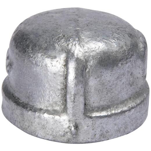Southland 1-1/2 In. Malleable Iron Galvanized Cap
