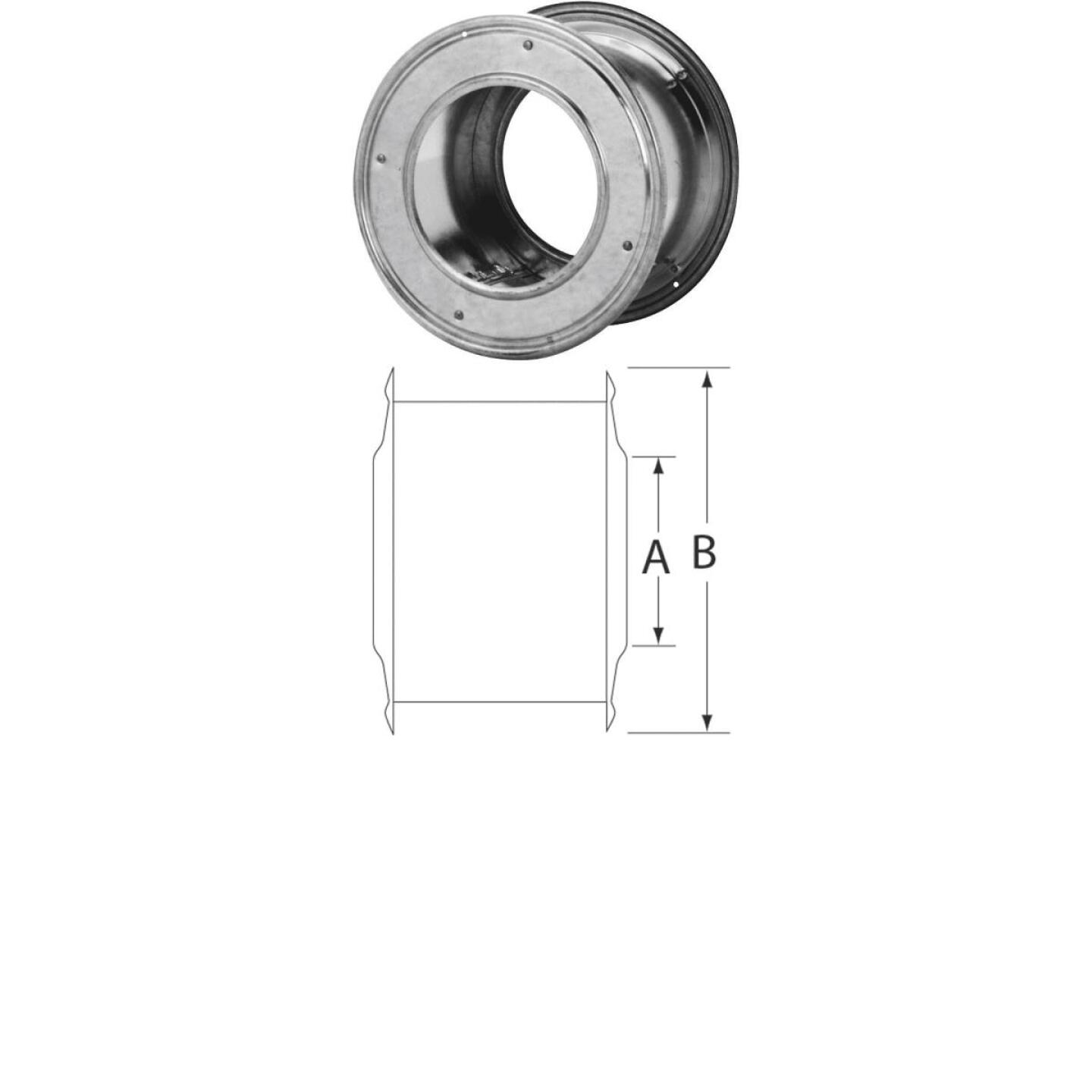 SELKIRK RV 4 In. x 4-5/8 In. Gas Pipe Wall Thimble Image 1