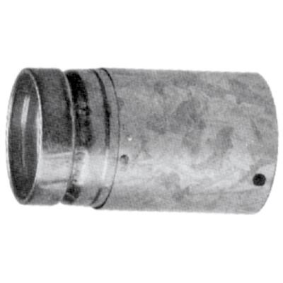 SELKIRK RV 3 In. x 12 In. Adjustable Round Gas Vent Pipe