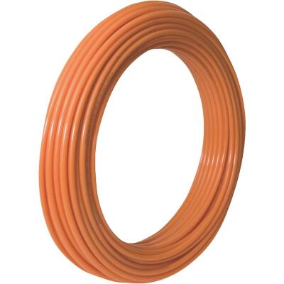 SharkBite 1 In. x 100 Ft. Orange Oxygen Barrier Radiant Heating PEX Pipe Type B Coil