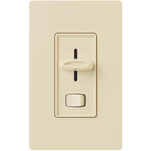 Lutron Skylark Incandescent/Halogen/LED/CFL Ivory Slide Dimmer Switch