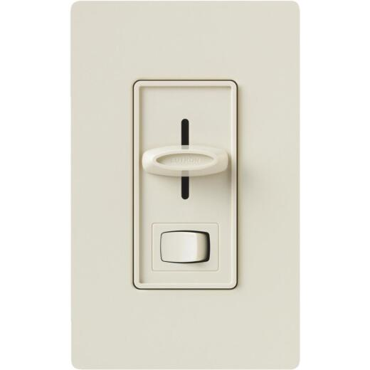 Lutron Skylark Incandescent/Halogen/LED/CFL Light Almond Slide Dimmer Switch