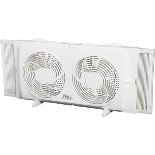 Best Comfort 7 In. 2-Speed Twin Window Fan