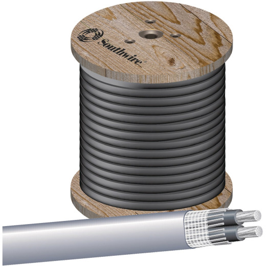 Southwire 100 Ft. 4/0-4/0-4/0 AWG AL SEU Wire
