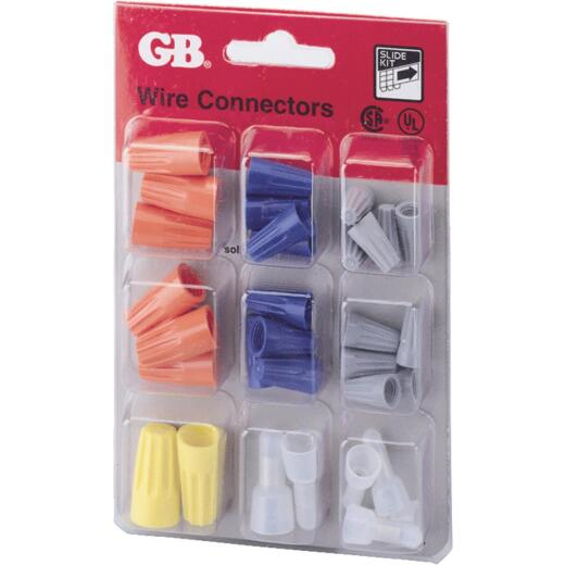 Gardner Bender WingGard Assorted Copper to Copper Wire Connector (32-Pack)