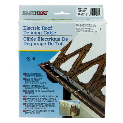 Easy Heat 60 Ft. 120V 5W De-Icing Roof Cable
