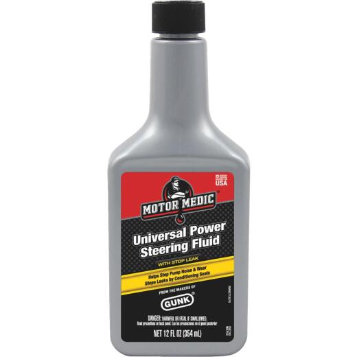 MotorMedic 12 Oz. Power Steering Fluid