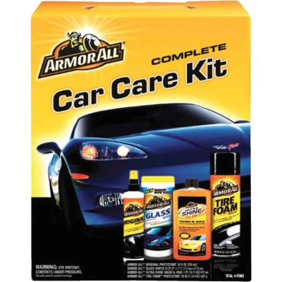 Armor All Interior/Exterior Gift Pack Detailer (includes 4 Items)