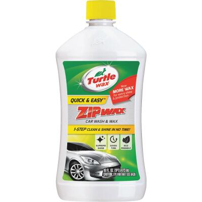 Turtle Wax Zip Wax Liquid 16 oz Car Wash