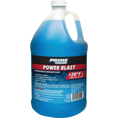 Prime Guard Power Blast Gallon +20 Deg F Temperature Rating Windshield Washer Fluid
