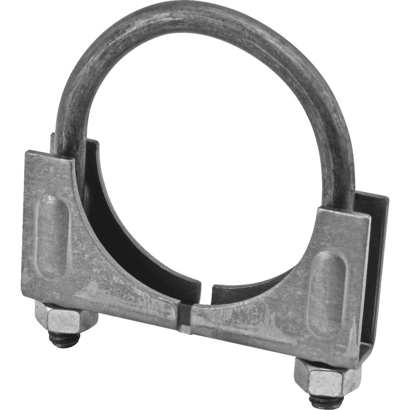 "Victor Saddle 2-1/4"" 13-gauge Steel Muffler Clamp Image 1"