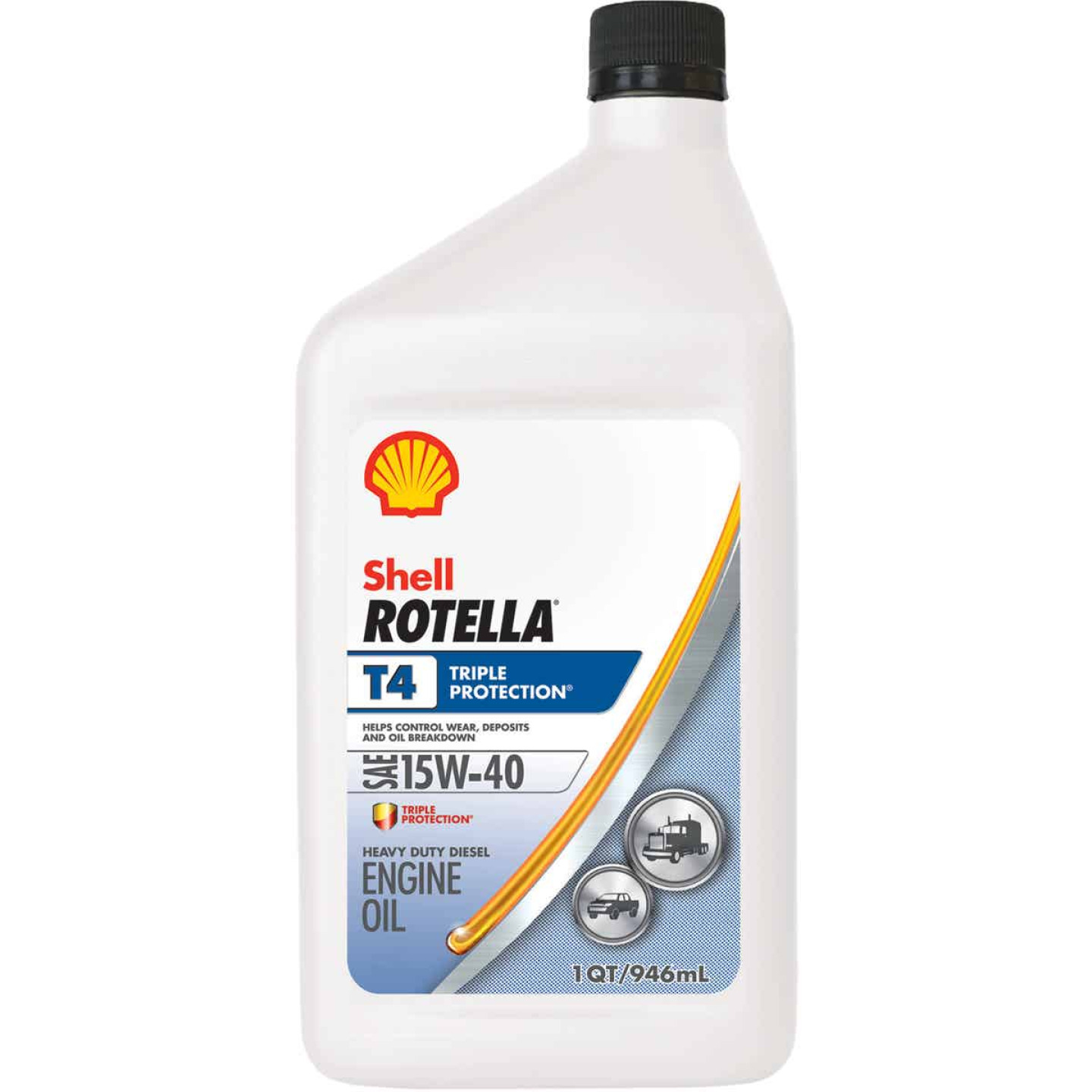 ROTELLA 15W40 Quart Triple Protection Motor Oil Image 1