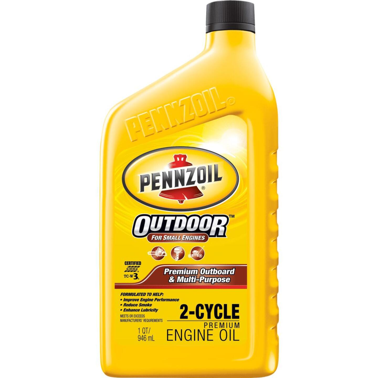 Pennzoil 1 Qt. Outboard/Multi-Purpose 2-Cycle Motor Oil Image 1