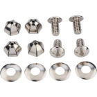 Custom Metal License Fasteners (4 Count) Image 1