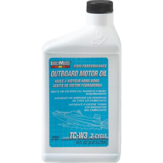 LubriMatic 16 Oz. Outboard 2-Cycle Motor Oil