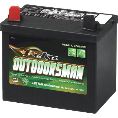 Deka Outdoorsman 12-Volt Lawn & Garden 300 CCA Small Engine Battery, Left Front Positive Terminal