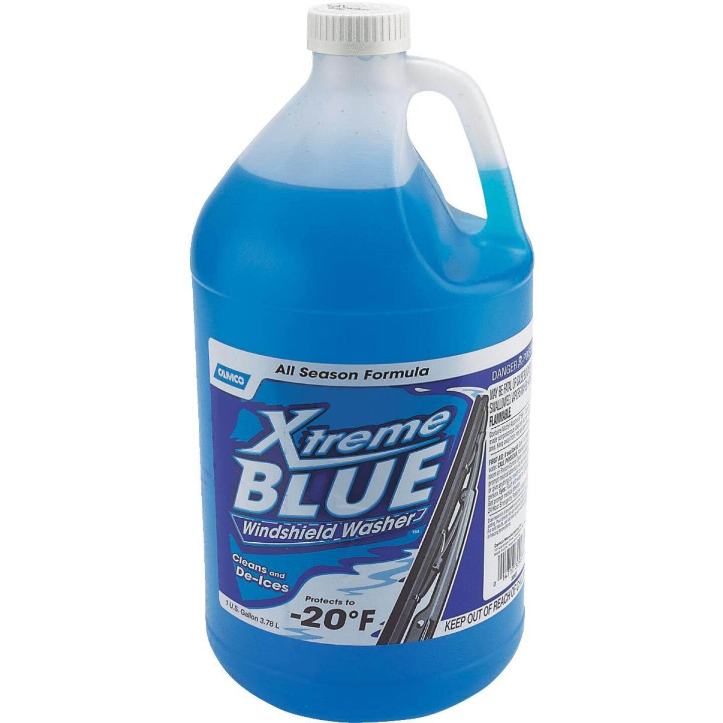 Camco Xtreme Blue 1 Gal. -20 Deg F Temperature Rating Windshield Washer Fluid with Antifreeze Image 1