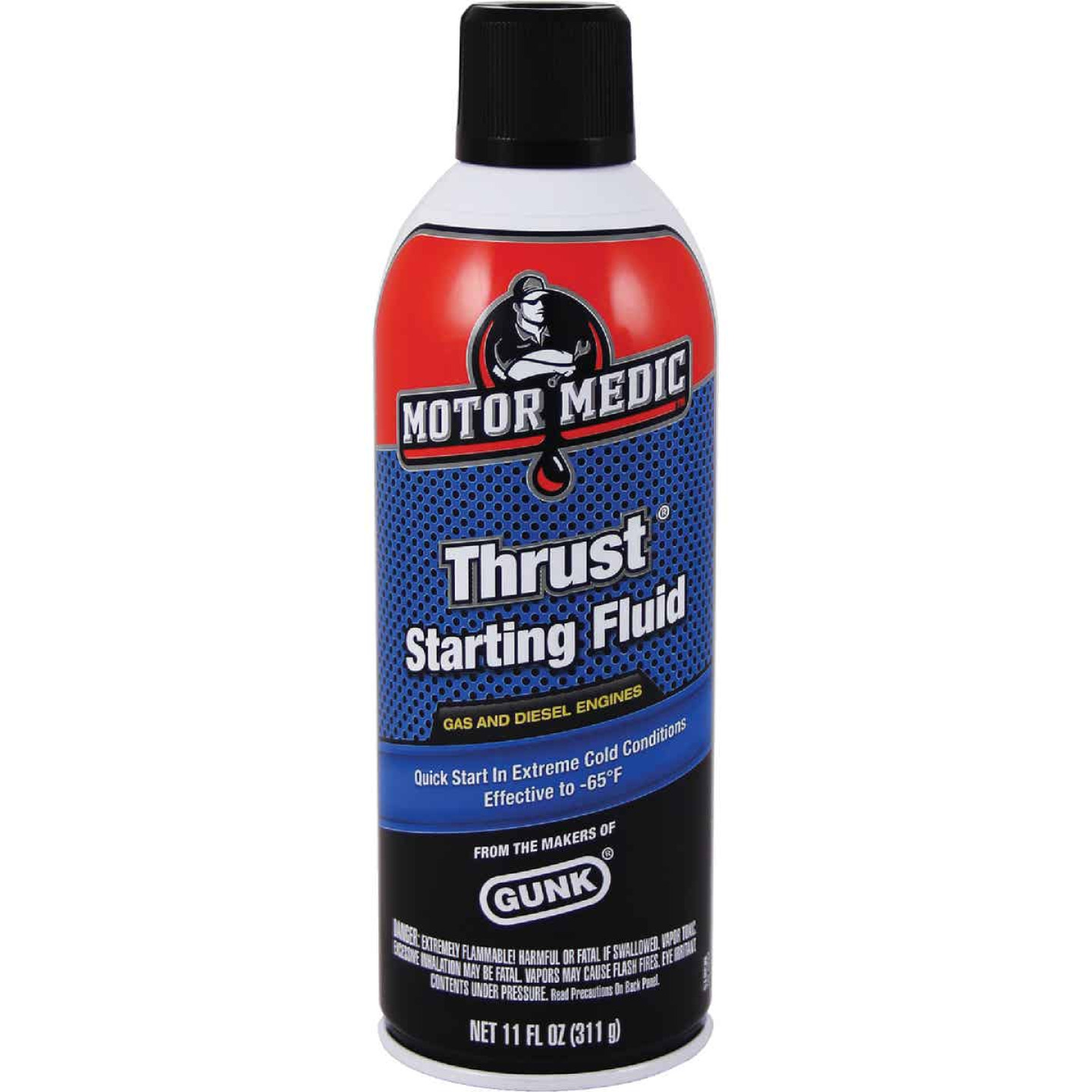 MotorMedic 11 Oz. Thrust Starting Fluid Image 1