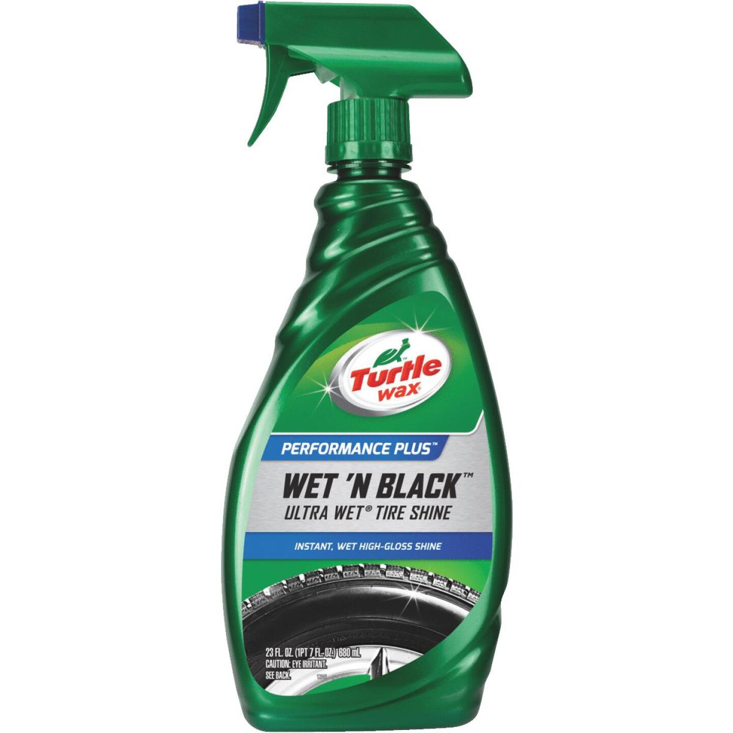 Turtle Wax Wet 'N Black 23 Oz. Trigger Spray Tire Shine Image 1