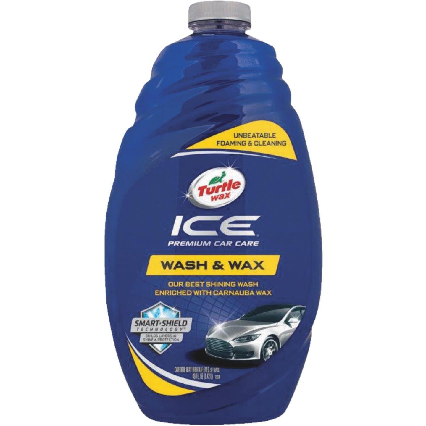 Turtle Wax ICE 48 Oz. Liquid Car Wash & Wax Image 1