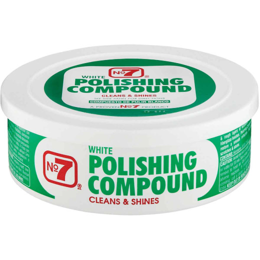 NO. 7, 10 Oz. Paste White Polishing Compound