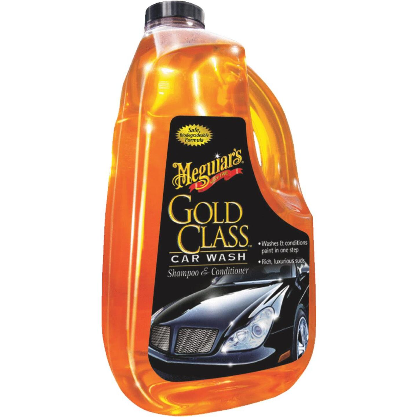 Meguiars Gold Class Liquid 64 oz Car Wash Image 1