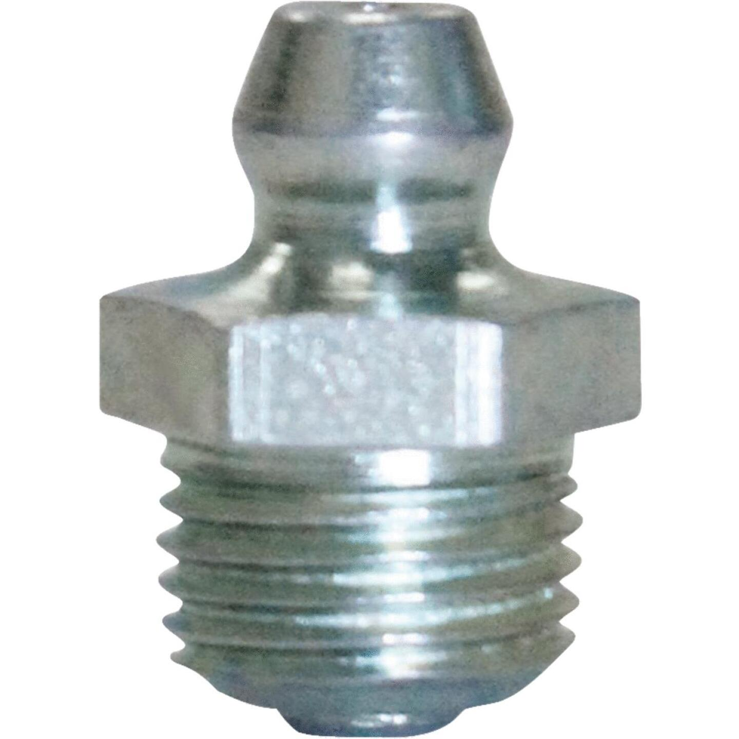 """Plews Lubrimatic Straight, Short 1/8"""" Grease Fitting Image 1"""